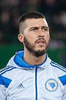 Haris Medunjanin Bosnian professional footballer (born 1985)
