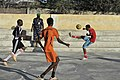 2015 03 04 AMISOM Police football players play with Dharkenley Team-4 (16715030671).jpg