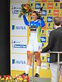 2015 Women's Tour - 141 Lisa Brennauer winner of points competition.JPG