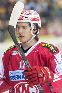 Manuel Ganahl Austrian ice hockey player
