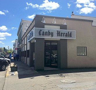 Canby, Oregon - Canby Herald office