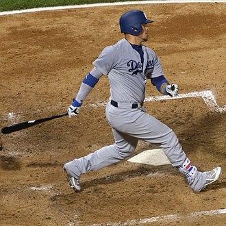 Yasmani Grandal - Grandal with the 2017 Los Angeles Dodgers