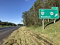 2018-10-12 11 24 37 View west along Interstate 66 and north along U.S. Route 17 at Exit 27 (Virginia State Route 55 EAST, Virginia State Route 647, Marshall) in Marshall, Fauquier County, Virginia.jpg