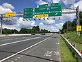 2019-06-14 11 10 28 View northwest along the Inner Loop of the Baltimore Beltway (Interstate 695) at Exit 11A (Interstate 95 NORTH, Baltimore) in Arbutus, Baltimore County, Maryland.jpg