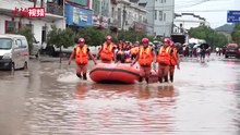 2020年中国南方水灾期间,7月8日,江西暴雨致39.9万人受灾