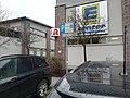 2021-02-04 Achtung, Grundstück wird videoüberwacht, Edeka Center Wucherpfenning, Einkaufszentrum Michael Emmelmann GmbH & Co.jpg