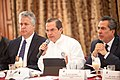 21-05-14- Quito Ecuador,Canciller Ricardo Patiño conversó con medios de comunicación sobre la universalización del SIDH y Día Internacional contra Chevron-19 (14239113064).jpg