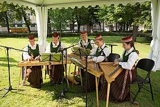 Kokles - Latvian concert kokles ensemble