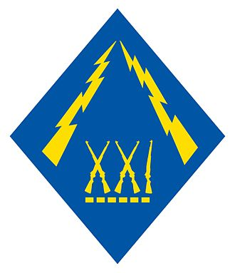 21st Division (Philippines) - 21st Philippine Division Emblem 1941-42
