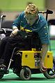 221000 - Boccia Scott Elsworth action 4 - 3b - Sydney 2000 match photo.jpg