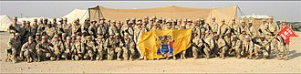 New Jersey Army National Guard - 250th Signal Battalion in Iraq