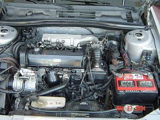 Chrysler 2.2 & 2.5 engine - MPFI 2.5 L MPFI engine installed in 1994 Mexican Chrysler Spirit