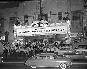 Pantages Theatre (Hollywood) - The 26th Academy Awards (1954)