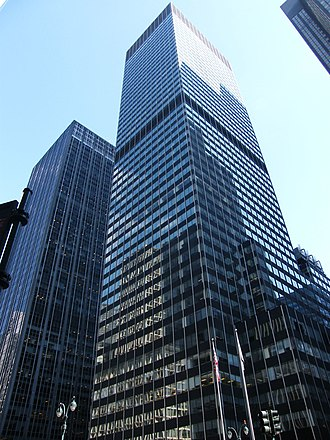 Chemical Bank - Chemical's offices at 277 Park Avenue from 1979 until its 1991 merger with Manufacturers Hanover Corporation, when the bank moved across the street