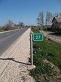27 road sign, Route 4202, 2019 Mezőtúr.jpg