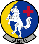 28 Medical Support Sq emblem.png