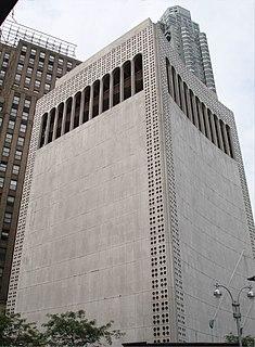 2 Columbus Circle Building in Manhattan, New York