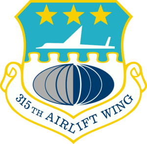 Naval Support Activity Charleston - Image: 315th Airlift Wing