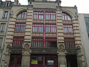 1900 in architecture - Image: 3bis rue de la Salpétrière Nancy WP 20160920 038