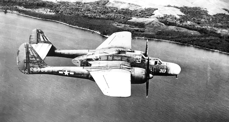 419th Night Fighter Squadron P-61A-1-NO Black Widow - 42-5508