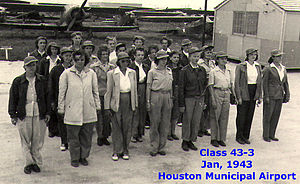 Women Airforce Service Pilots - Photo by Lois Hailey, Class of 43–3 in January 1943—start of training.