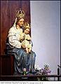 4343 Milano - Abbazia di Chiaravalle - statua della Madonna con Bambino - Foto Maurizio OM Ongaro, 30-Giu-2014 02.JPG