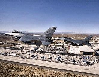 445th Flight Test Squadron - Image: 445th Flight Test Squadron 2 ship F 16 Edwards