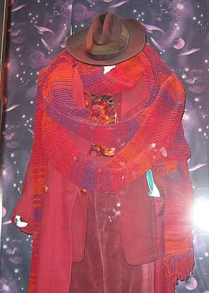 Fourth Doctor - Image: 4th Doctor Who Costume Tom Baker (8495078918)