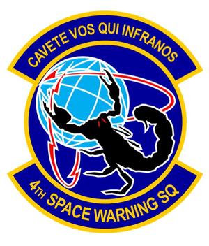 4th Space Warning Squadron - 4th Space Warning Squadron emblem
