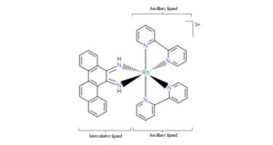 DNA-binding metallo-intercalators - Image: 5,6 chrysenequinone diimine