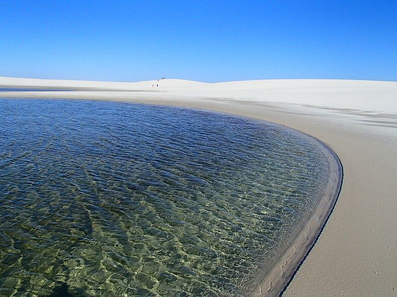 Ecoturismo no Brasil em praias