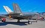 53d Wing - United States Air Force Warfare Center (USAFWC) Lockheed Martin F-35A Lightning II 09-5007 (15569159848).jpg