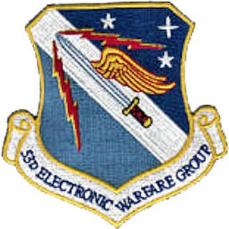 53d Electronic Warfare Group - Image: 53delectronicwfgroup patch