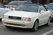 Audi 90 Cabrio (North American example)