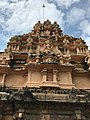 9th century Parthasarathi temple sanctum vimana with Brahma, Parthivapuram Tamil Nadu.jpg