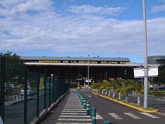 Sainte-Marie, Réunion - Roland Garros Airport
