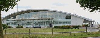 Caen – Carpiquet Airport - Image: Aéroport de caen carpiquet