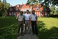 A.Kubiļus, V.Dombrovskis un A.Ansips apmeklē Ungurmuižu 27.08.2011. (6088610129).jpg