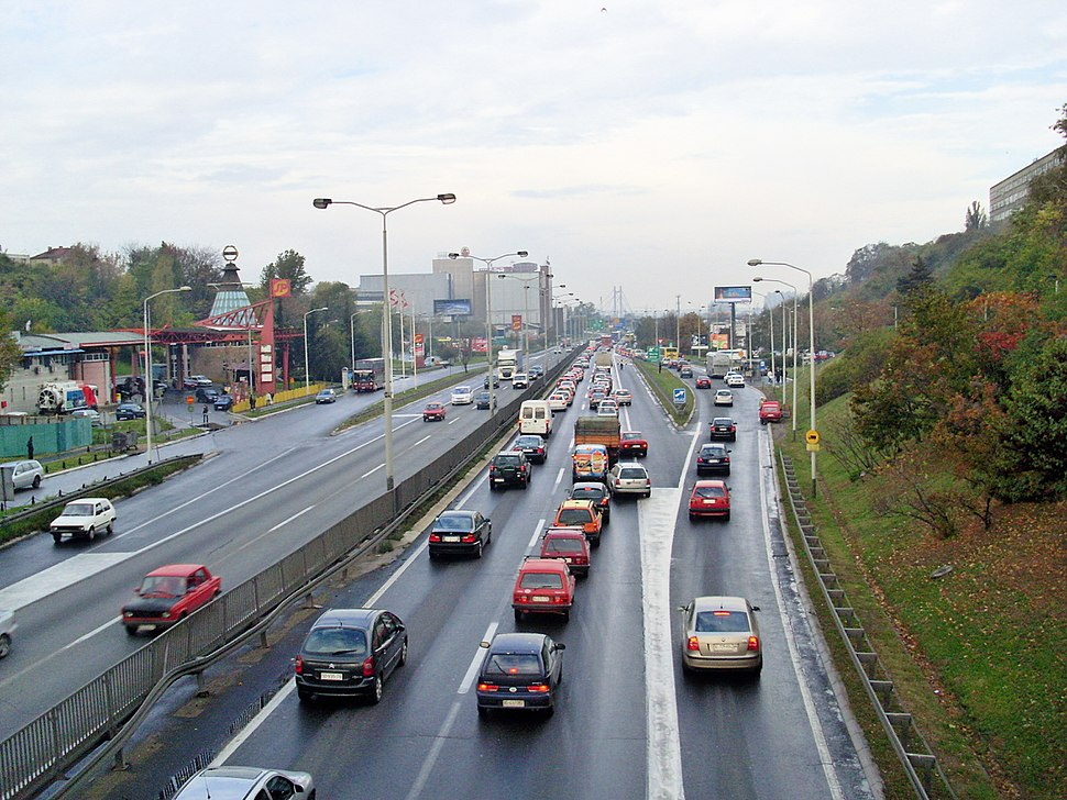 A1 freeway Belgrade Zagreb