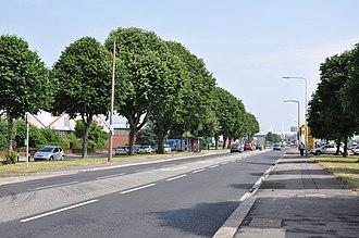A4160 road - Image: A4160 Penarth Road