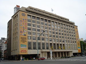 Argentine Automobile Club building - Image: ACA Sede Central