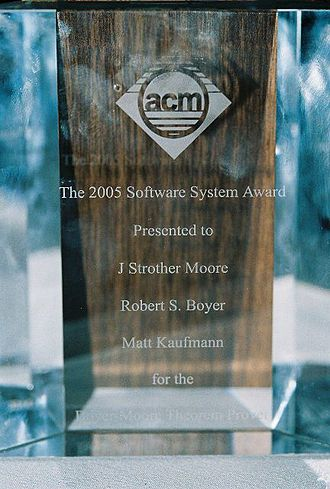 ACM Software System Award - ACM 2005 Software System Award