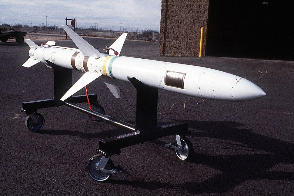 AGM-45 Shrike on cart