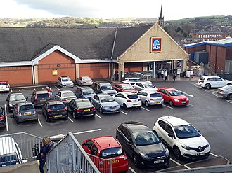 Aldi - ALDI Süd store in Macclesfield, UK