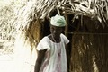 ASC Leiden - Coutinho Collection - B 32 - Life in the Liberated Areas, Guinea-Bissau - Woman in front of a hut - 1974.tif