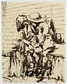 A Brother and Sister Sheltering in the Underground, 1941 (Art.IWM ART LD 795).jpg