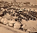 A Persian camp of pilgrims to Jaffa. 1900. ppmsca.10705.right.jpg