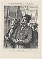 A Sunday connoisseur, from 'At the Louvre,' published in Le Charivari, February 4, 1865 MET DP877351.jpg