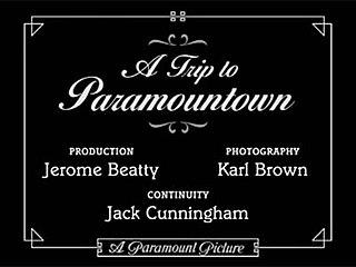 <i>A Trip to Paramountown</i> 1922 film