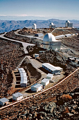 La Silla Observatory - Image: A Window to the Past — La Silla's transformation through time